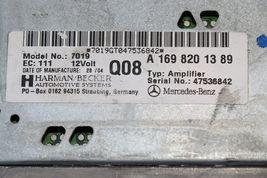 Mercedes W203 W209 Amplifier Amp A1698201389 Herman Becker image 5