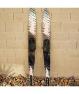"""Vintage 90s O'Brien Performers 68"""" Combo Water Skis With Bindings Silver... - $74.21"""