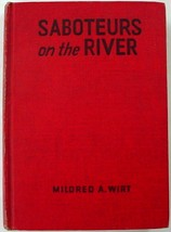 Penny Parker Saboteurs on the River #9 Mildred A. Wirt red hc glossy fro... - $9.00