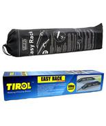 Tirol T15414b High Quality Auto Soft Car Roof Rack 2 Pieces/Set Carrier ... - $99.95
