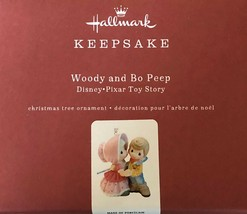 Hallmark 2019 Woody and Bo Peep Precious Moments Disney/Pixar Toy Story LQ - $49.99
