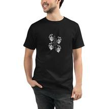 Skull Black Unisex Organic T-Shirt Eco Friendly Sustainable Men Women - $31.68+
