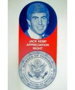 """Jack Kemp Appreciation Night"" Original 1974 Program w/ Bob Hope, Singin... - $20.21"