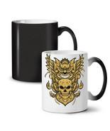 Owl Skull NEW Colour Changing Tea Coffee Mug 11 oz   Wellcoda - €16,85 EUR