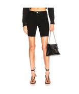 RTA Toure Shorts 5 Pocket Jean Styling Black Biker Shorts - $179.00