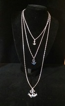 Three-Strand Chain Necklace  - $25.00