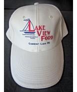 Lake View Ford Conneaut Lake PA Baseball Hat Cap Adjustable Strap - $2.99