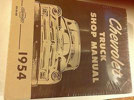 1954 Chevy Truck Lkws Chevrolet Service Shop Reparatur Manuell Neu RS56SM X - $59.39