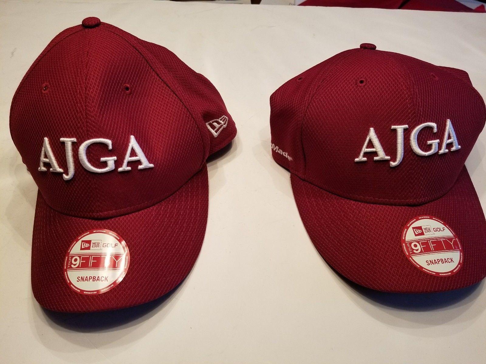Lot 2 Ajga Golf Hat Cap Snapback Red Maroon and 28 similar items f77d4625972f
