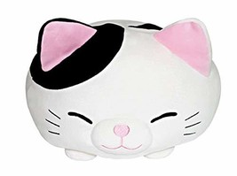 "eZen Creation Dumpling Stuffed Cat Fluffy Cushion Plush Toy 17"""