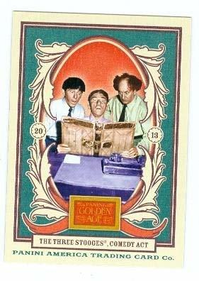 The Three Stooges trading card 2013 Panini Golden Age #41