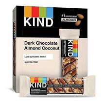 KIND Bars, Dark Chocolate Almond Coconut, Gluten Free, 1.4 Ounce Bars, 1... - $29.00