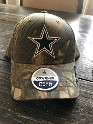 Dallas Cowboys NFL Football Hat Cap Realtree Camo Twill Strapback OSFA