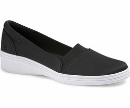Grasshoppers EF54866 Women's Jade Twill Fashion Sneaker, Black,Size 7.5 Med - $24.70