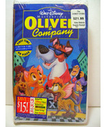 OLIVER & Company VHS, 1996 Walt Disney Masterpiece Collection BRAND NEW ... - $9.98
