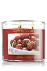 Cranberry Woods 3 Wick Scented Candle 14.5 Oz