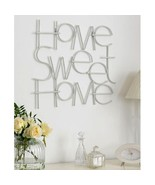 17 In. X 25 In. 'Sweet Home' By Graham And Brown Metal Wall Art - $43.99
