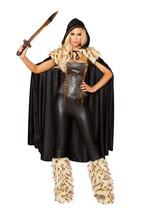 Sexy 3pc Roma War Hero Viking Warrior Halloween Costume W/WO LEG WARMERS... - $105.00+