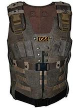 Fast and Furious 7 Luke Hobbs Leather Tactical Vest image 1
