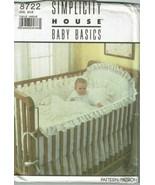 Simplicity 8722 Sewing Pattern Baby Nursery Accessories UNCUT - $10.69