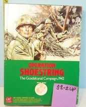 Operation Shoestring The Guadalcanal Campaign 1942 GMT Unpunched 1990 #SS2 - $39.60