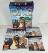 Myst 3 III Exile 2001 Big Box Edition Classic PC Game w Strategy Guide Complete - $19.55