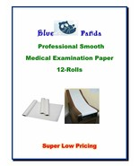"12 Rolls Blue Panda Exam Table Paper 14""-18""-21"" 225ft Smooth/125ft Crep... - $43.95+"
