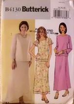 Butterick B4130, Size 14,16,18, Easy sew pattern, Evening Wear Dress, Mi... - $12.00