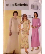 Butterick B4130, Size 14,16,18, Easy sewing pattern,Evening Wear Dress S... - $12.00
