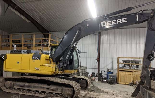 2013 DEERE 210G LC For Sale In Harwood, North Dakota Harwood, ND 58042