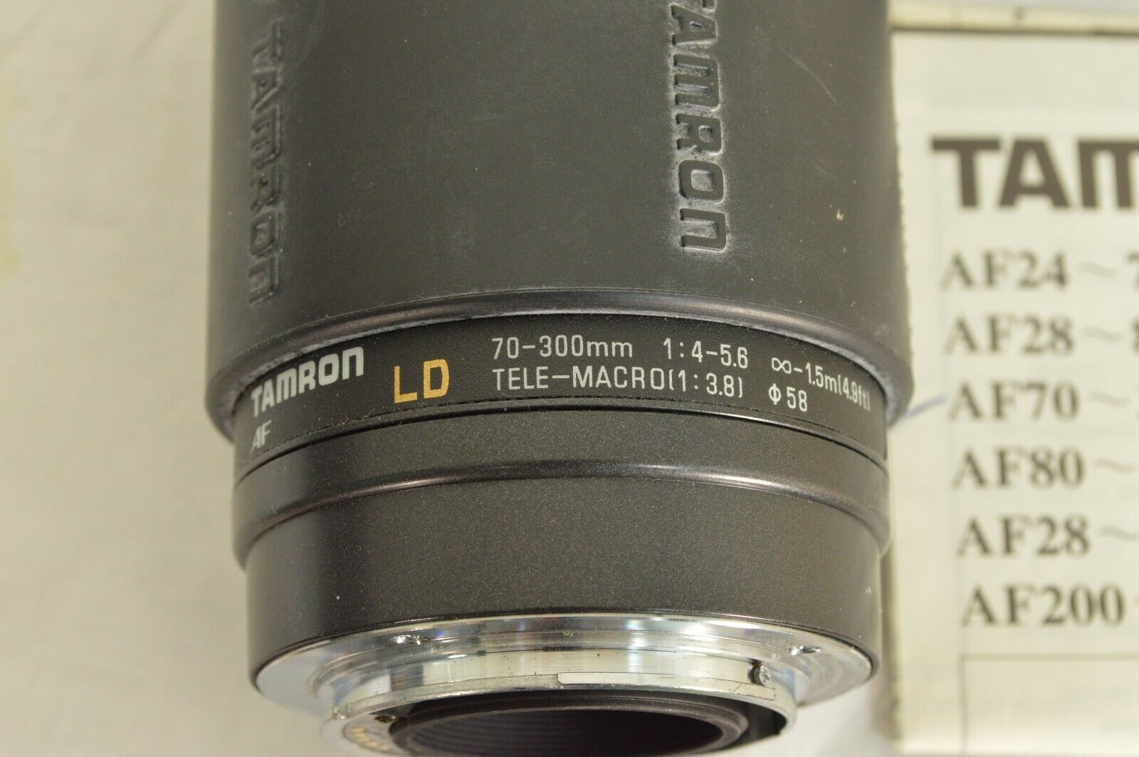 Tamron LD 70-300mm f/4.0-5.6 LD AF camera lens for Sony image 11
