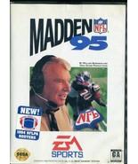 Madden NFL 95 (Sega Genesis, 1994) Complete - $2.66