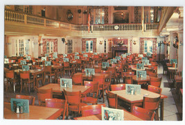 Boston Massachusetts Pieroni's Restaurant Hotel Postcard - $5.95