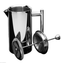 Frieling 0103 French Coffee Press Shiny 18/10 Stainless Steel 6 Cup  23 oz - £67.23 GBP