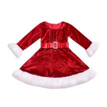 Princess red Christmas flannel dress - $12.99