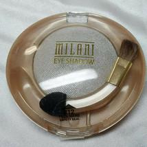 Milani Runway Eyes Eye shadow Use Wet Or Dry #12 Silver Charm - $9.89