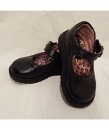 Shoes Black Mary Jane Janes Dress Shoes Circo  Size 5 Toddler Girls Hook... - $9.99