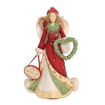 "Enesco Heart of Christmas Deck The Halls. Figurine, 7.91"", Multicolor - $42.87"