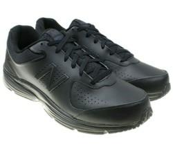 Mens New Balance MW411BK2 Walking Extra Wide (4E) Black 100% Authentic NEW - $44.50