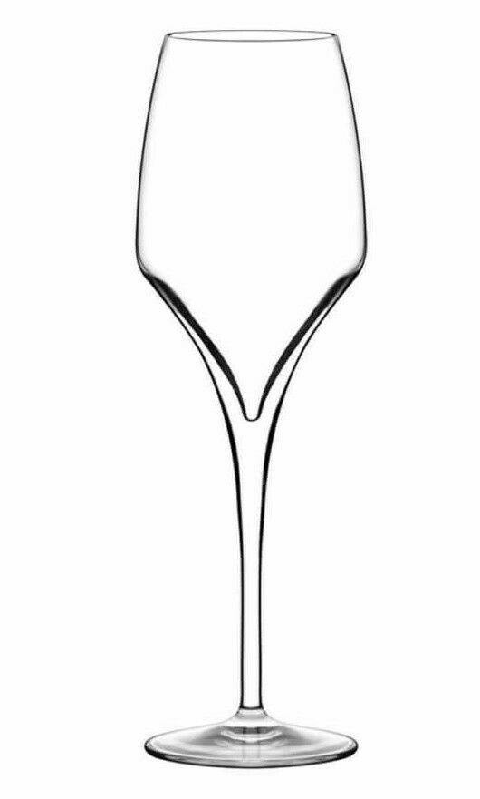 Italesse Tiburon Champagne Flute Prosecco Lead Free Xtreme Crystalline Glass NEW