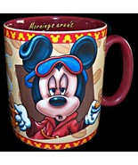 Walt Disney Mickey Mouse MASSIVE 30 Oz Coffee Mug Cup Mornings Aren't Pr... - $49.99