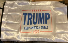 Cool Trump 2020 KEEP AMERICA GREAT Satin Pillowcase - $8.36