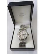 Vintage ORIENT Sporty Sapphire Watch For Man LUG1C001WH New In Original Box - $199.99