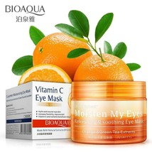 BIOAQUA Hydra orange Relieve Eye mask sleep Go pouch fade fine lines moi... - $421,78 MXN