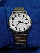 Vintage Timex M Cell late 70s classic Quartz Men's Watch Serviced - $27.68