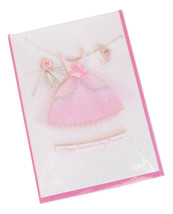 Happy Valentine's Day Princess Pink Greeting Card for Girls by Hallmark - $5.95