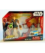 Star Wars Hero Mashers Jedi Speeder and Anakin Skywalker NIB - $10.89