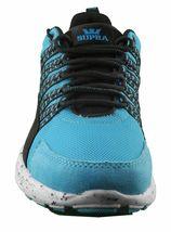 Supra Owen Turquoise Black Suede Running Cross-trainer Skateboarding Shoes NIB image 5