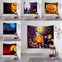 Halloween Beach Cover Up Tunic Tapestry Wallhaning Roomdorm Home Decor P... - £13.91 GBP
