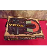 Vintage VEDA Magic Answer Man magnetic Quiz game-Pressman Toy Corp 2233 - $24.75